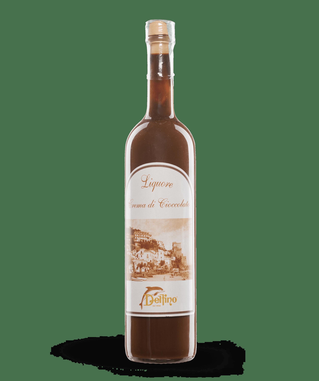 Liquore alla Crema di Cioccolato - Liquori Tipici - Delfino Battista