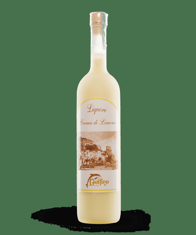 Liquore alla Crema di Limone - Liquori Tipici - Delfino Battista