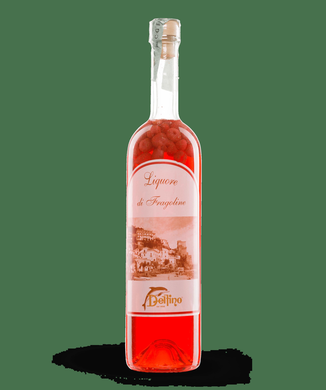 Liquore di Fragoline - Liquori Tipici - Delfino Battista
