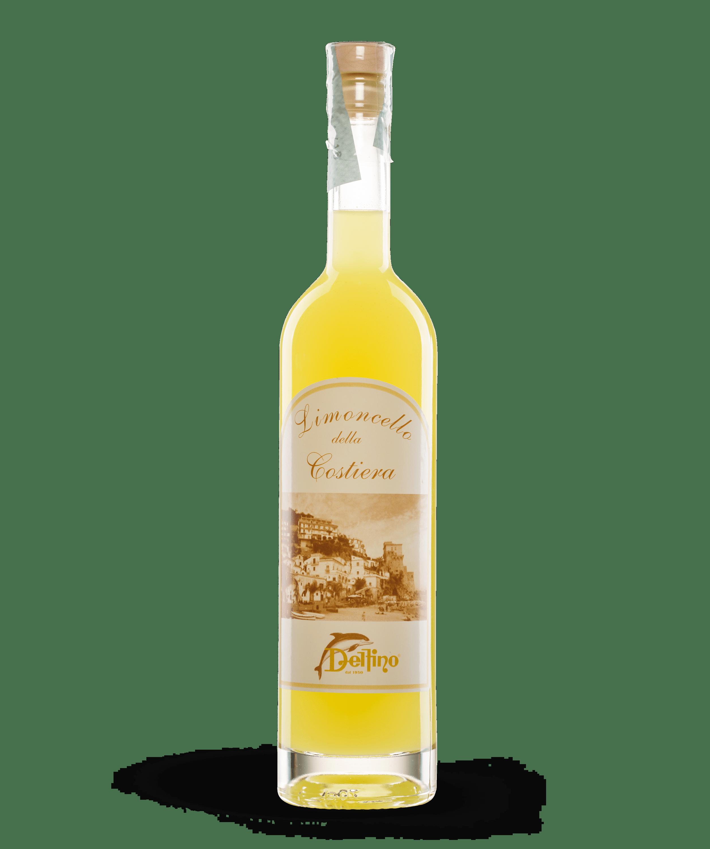 Limoncello della Costiera Amalfitana - Liquori Tipici - Delfino Battista