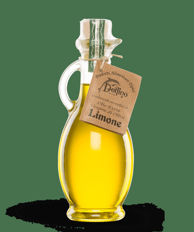 Olio aromatizzato al limone - Delfino Battista - Specialità Cetaresi dal 1950