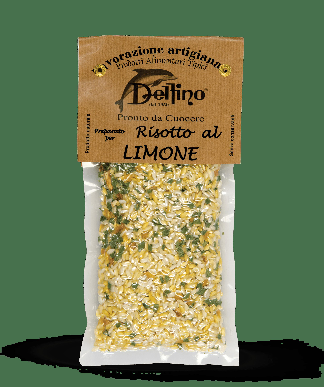 Risotto al Limone pronto da cuocere - Linea Terra Delfino Battista