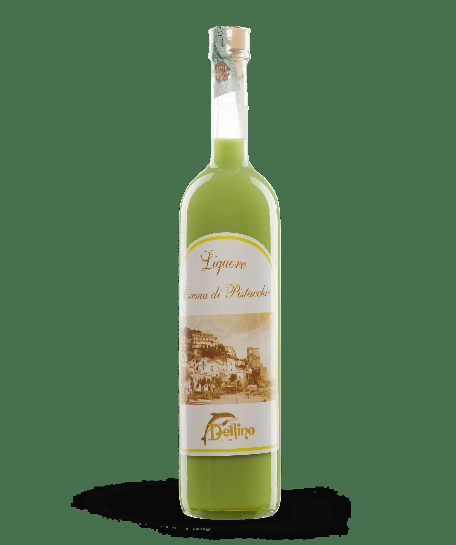 Liquore alla Crema di Pistacchio - Liquori Tipici - Delfino Battista