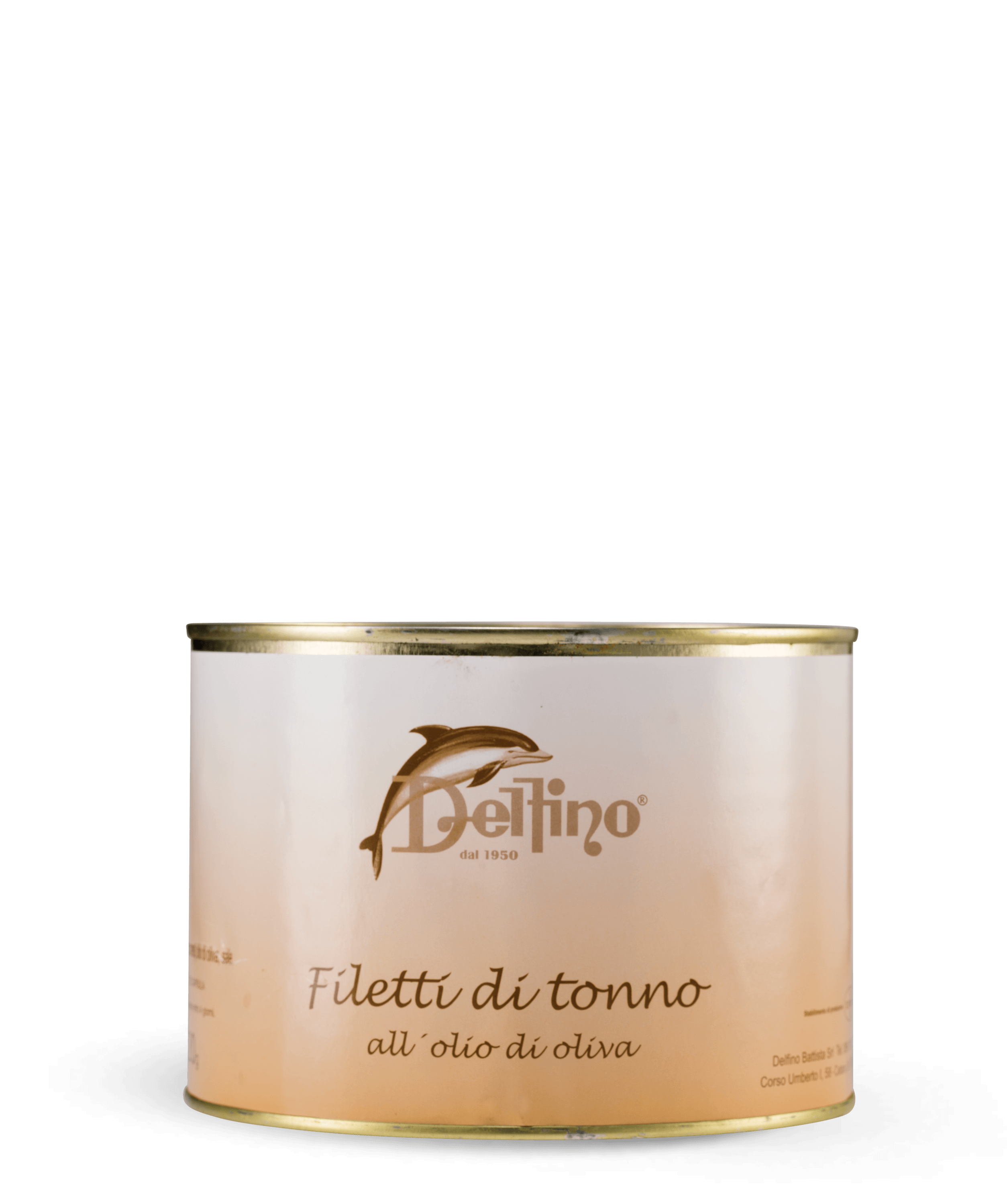 Filetti di tonno 1500 ml